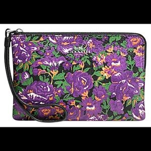 NWOT Coach stunning colorful wristlet